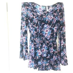 Floral romper small